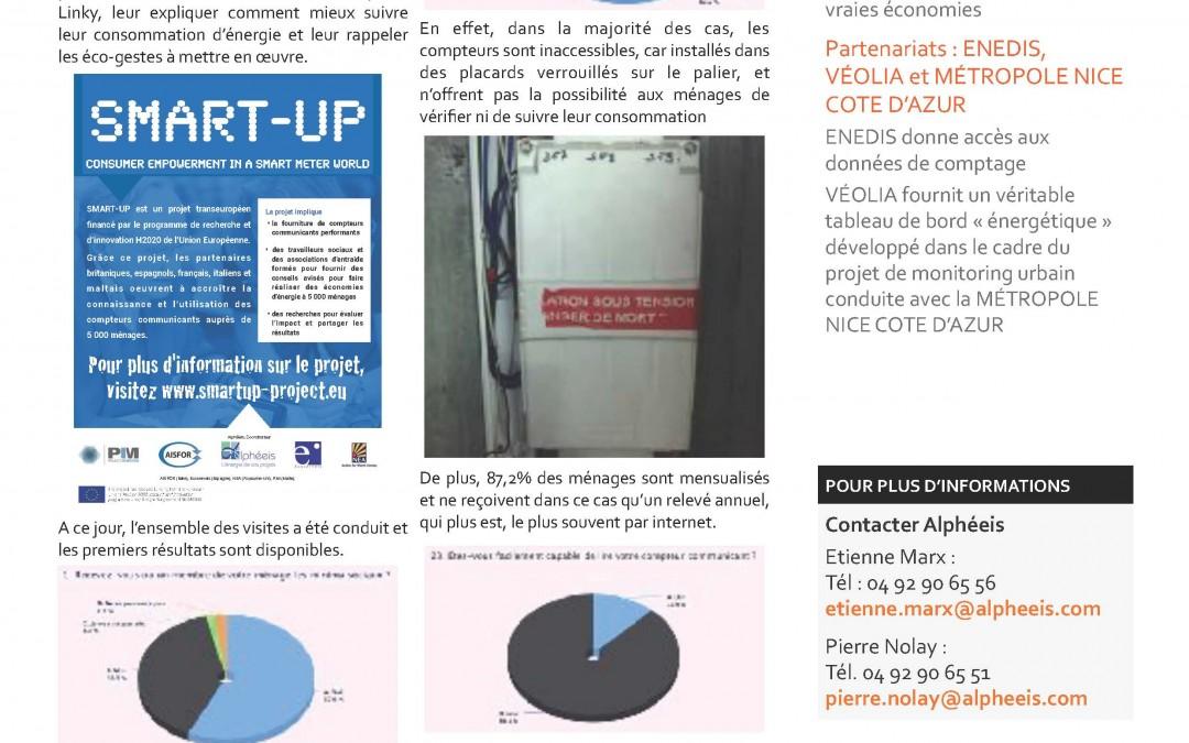 Quatrième bulletin d'information sur le projet SMART-UP